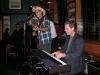 Sandy Bone and Dave Webb